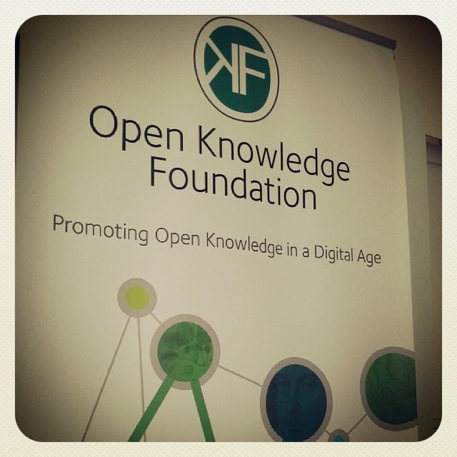 Первая встреча с Open Knowledge Foundation