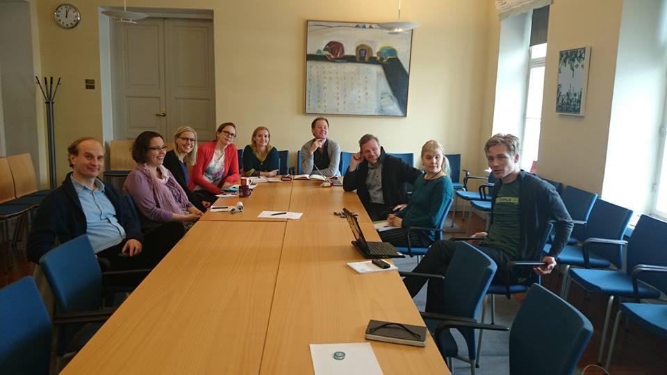 Встреча финской группы фонда Открытых знаний