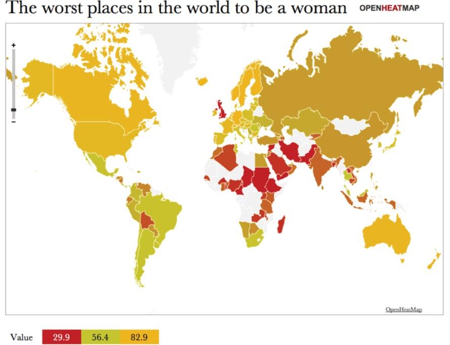 Женщины в открытых данных и журналистике данных