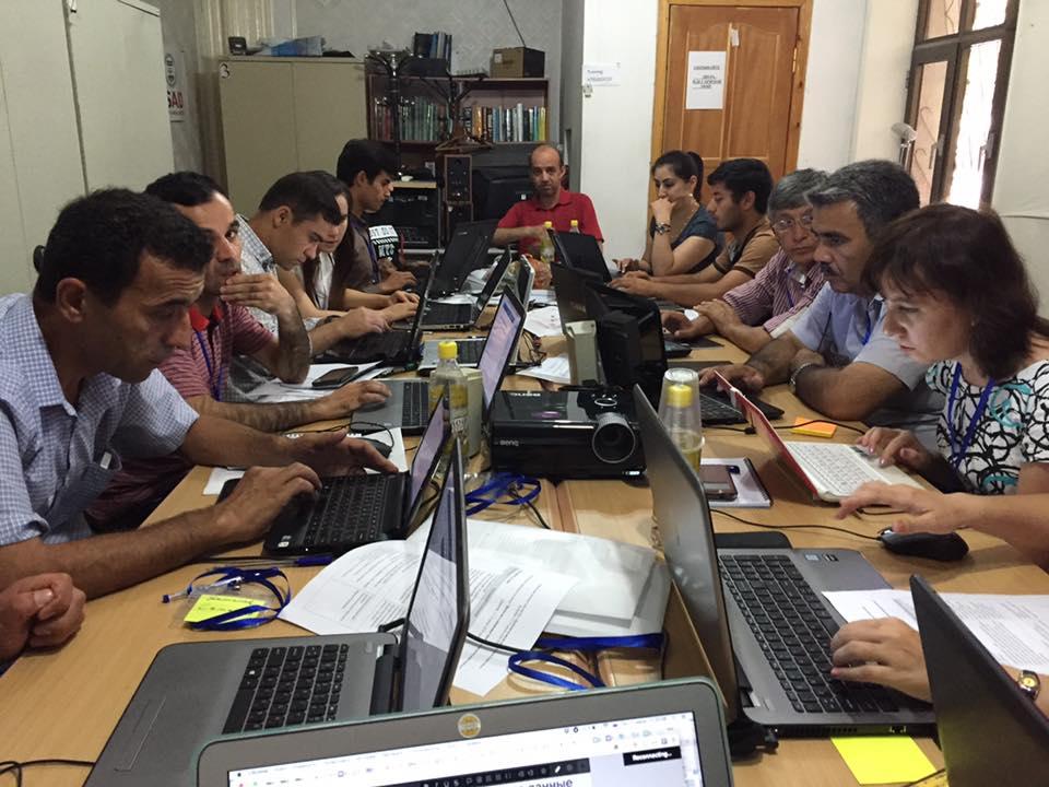 Тренинг в Душанбе